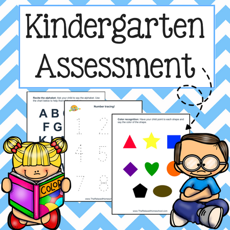 Critical image intended for kindergarten readiness test free printable