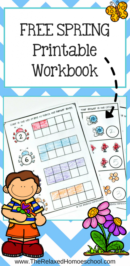 Free Spring math printable pack - this is a great way for your children both preschool through first grade to have some math time fun this spring!