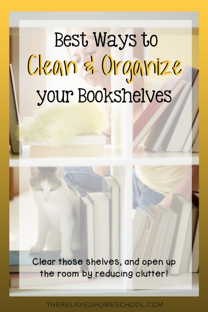Best Ways to Clean and Organize Your Bookshelves
