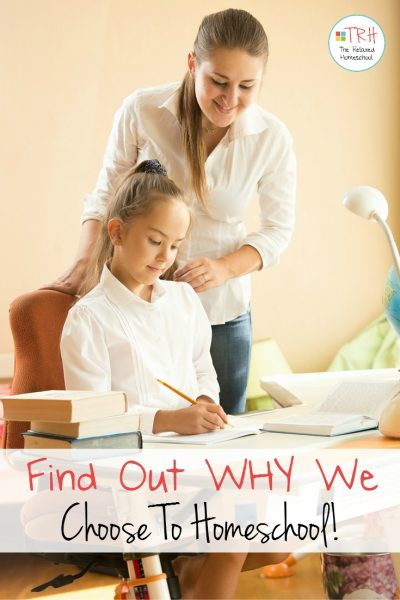 Find out why we homeschool! | Why Homeschool | Getting started with homeschooling | How to homeschool