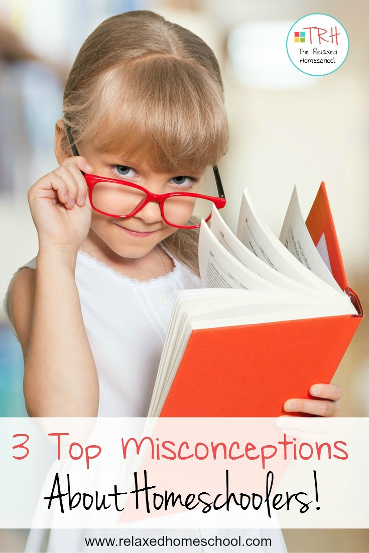 Homeschooling has it's pros and cons, but here are 3 common misconceptions about homeschooling.