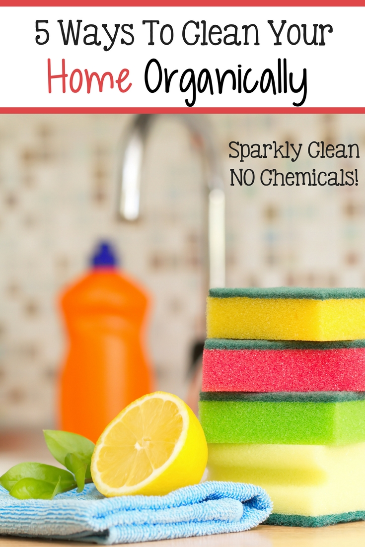 Natural cleaners get your home clean better and cheaper than chemical cleaners! Discover 5 natural cleaners you can make at home RIGHT NOW!