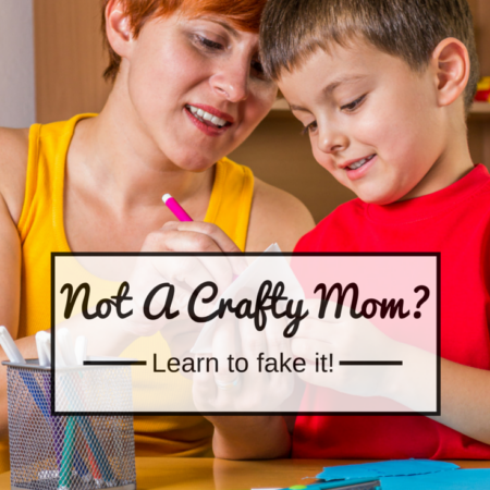 How to fake being crafty! Not crafty? Then this is for you!