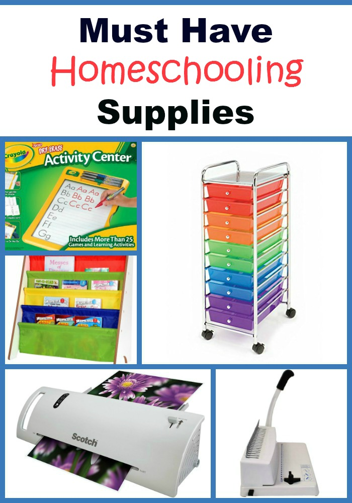 Check out these top homeschooling supplies that every homeschooler could want and use! Homeschooling | Homeschool Room | Homeschool Organization | School Supplies