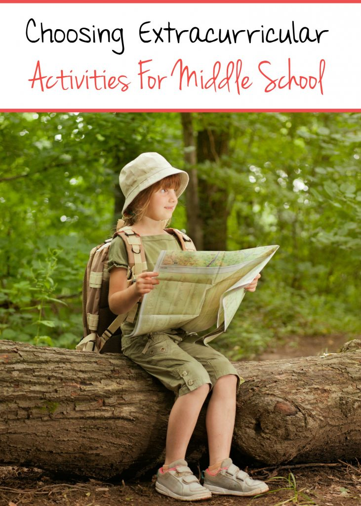 Here is an easy to follow guide on how to choose extracurricular activities for your middle school kids!