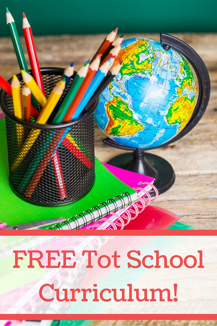 FREE Tot School Curriculum! Videos, printables, and more!