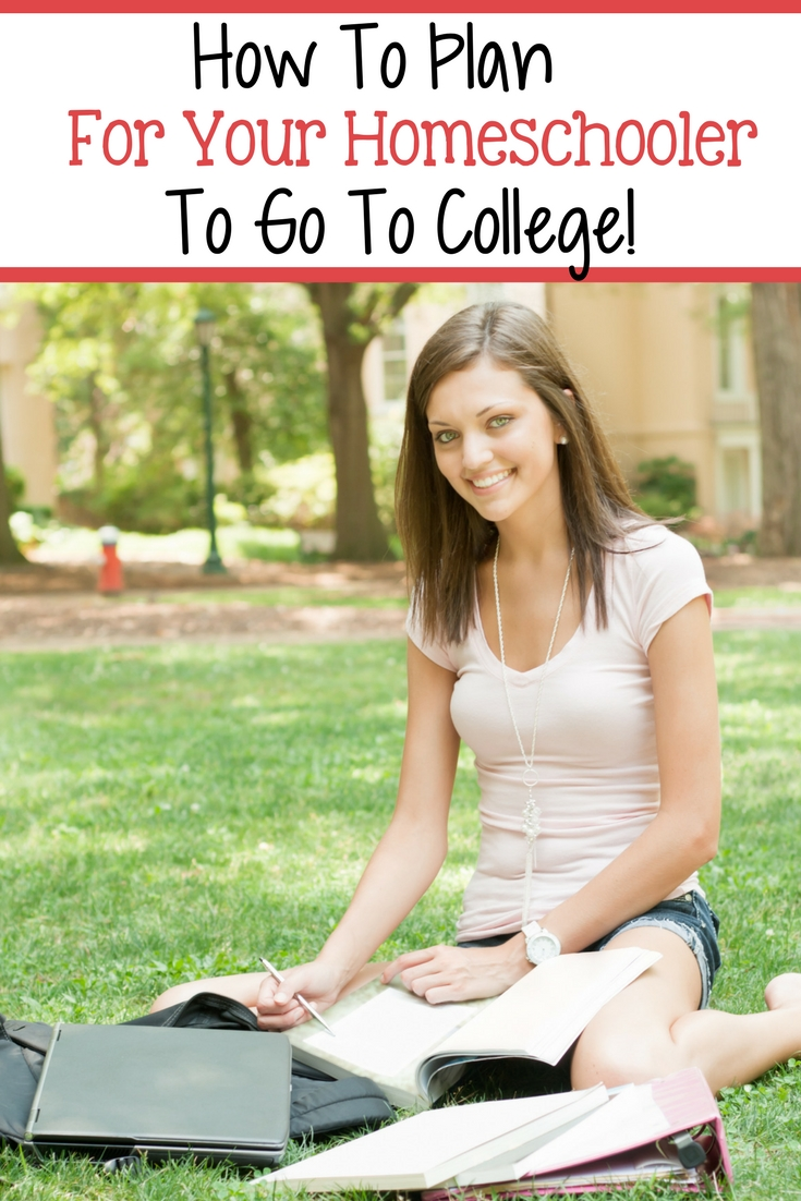 Get your homeschooler ready for college with these easy steps!