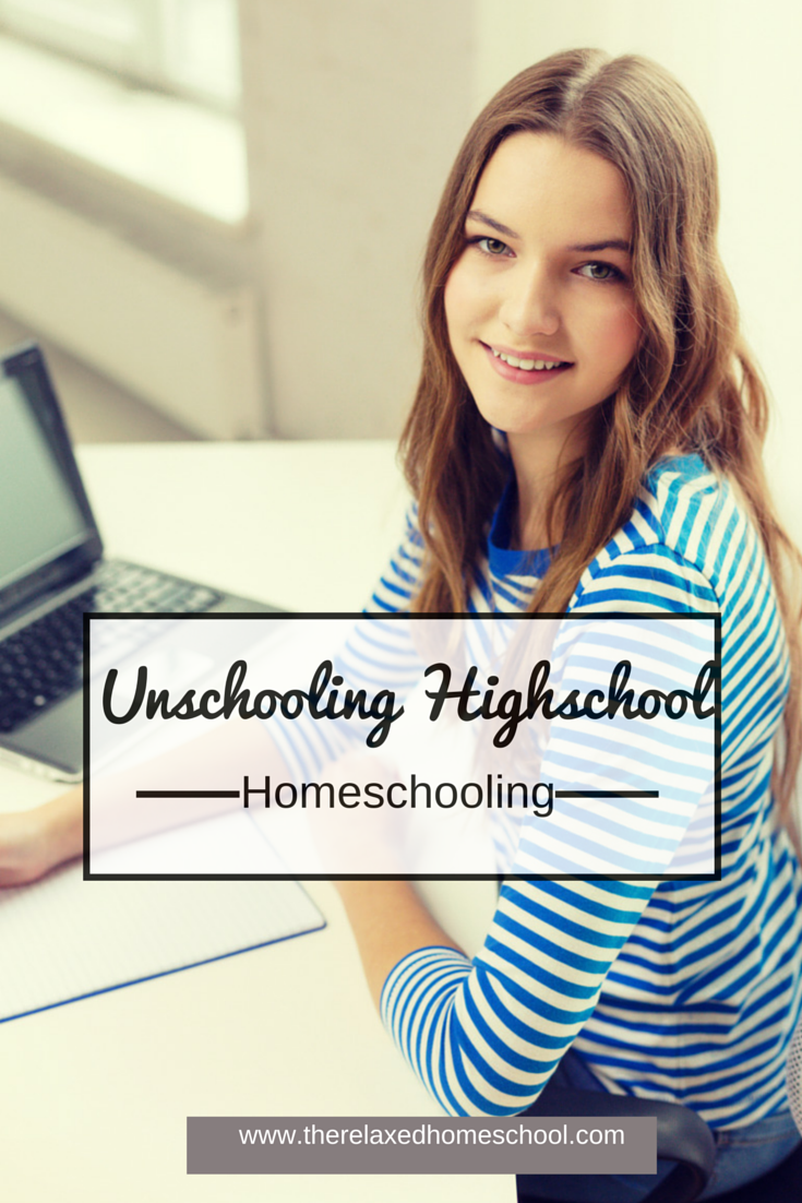 Unschooling High School is a great way to get through the high school years! See how you can use this method for your high school children!