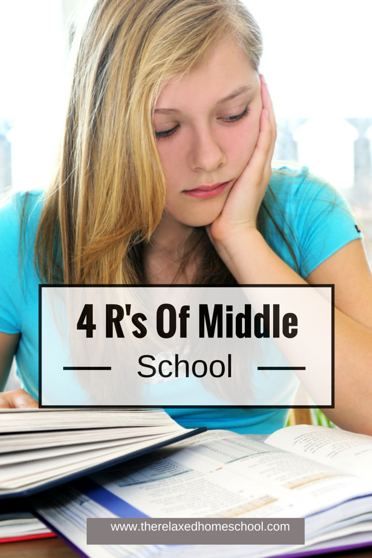 Do you know the 4 R's of middle school? Here are some really great tips!