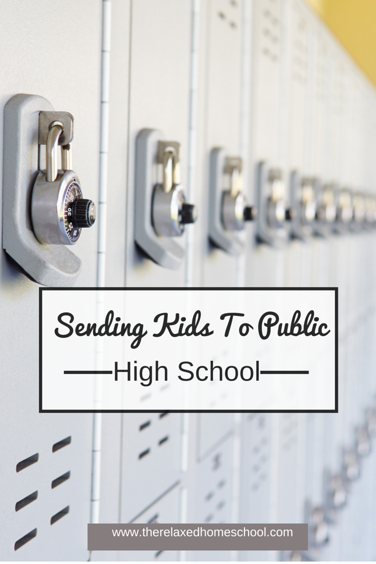 Should you send your homeschool kids to public high school?