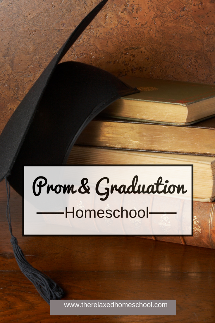 Prom & Graduation for homeschoolers