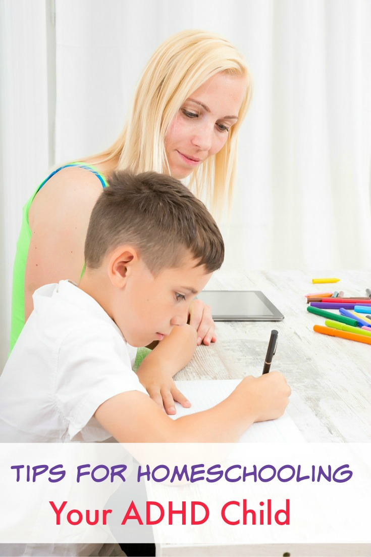 Homeschooling tips for teaching students with ADHD
