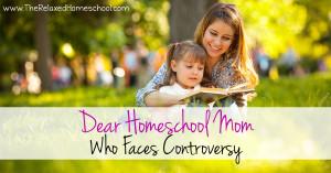 Dear Homeschool Mom FB
