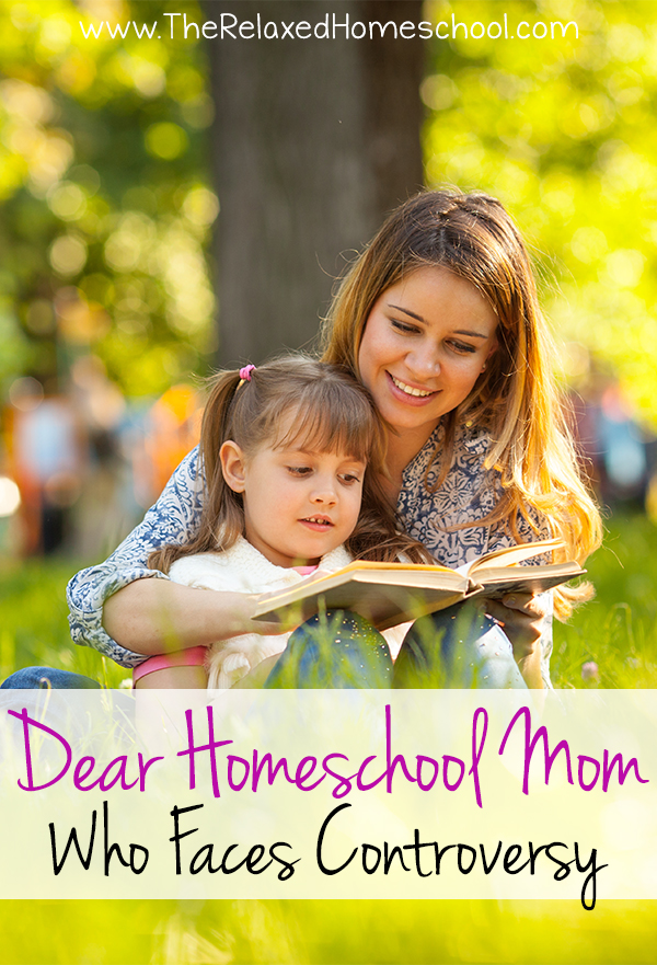 Dear Homeschool Mom this is for you! Homeschool support and what to do when people do not approve your choice to homeschool.