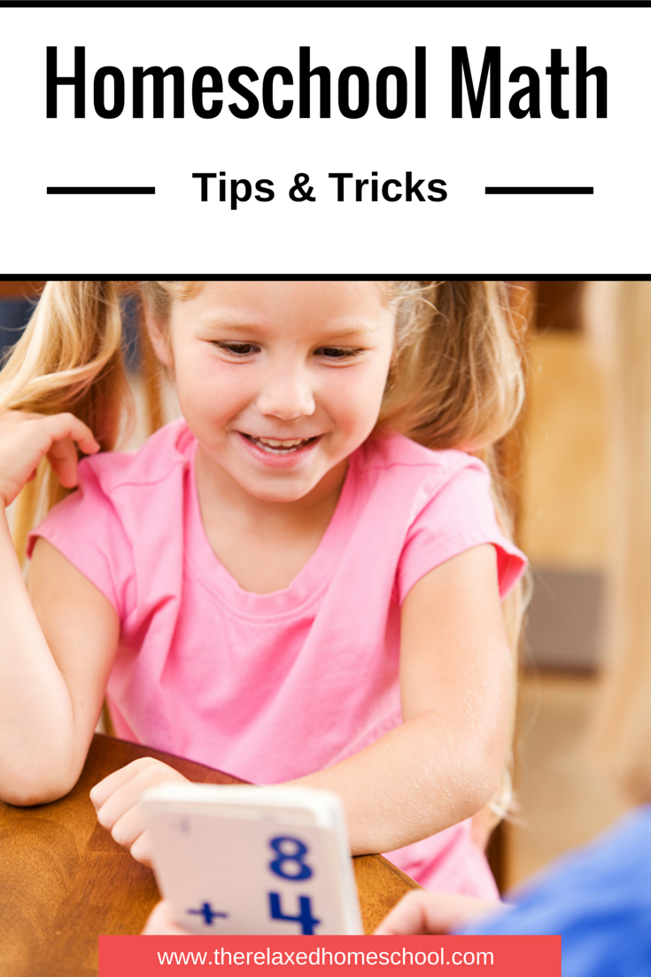 How to teach math - check out these easy homeschooling math tips and tricks!