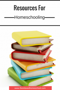 Finding resources for homeschool