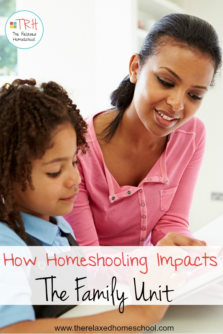 How does homeschooling impact the family unit? Find out here!