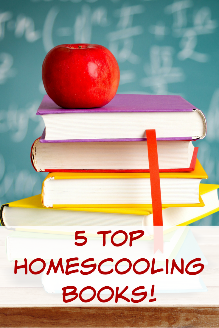 Check out these top 5 homeschooling books!