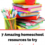Check out these homeschool resources! Great resources for all homeschoolers!