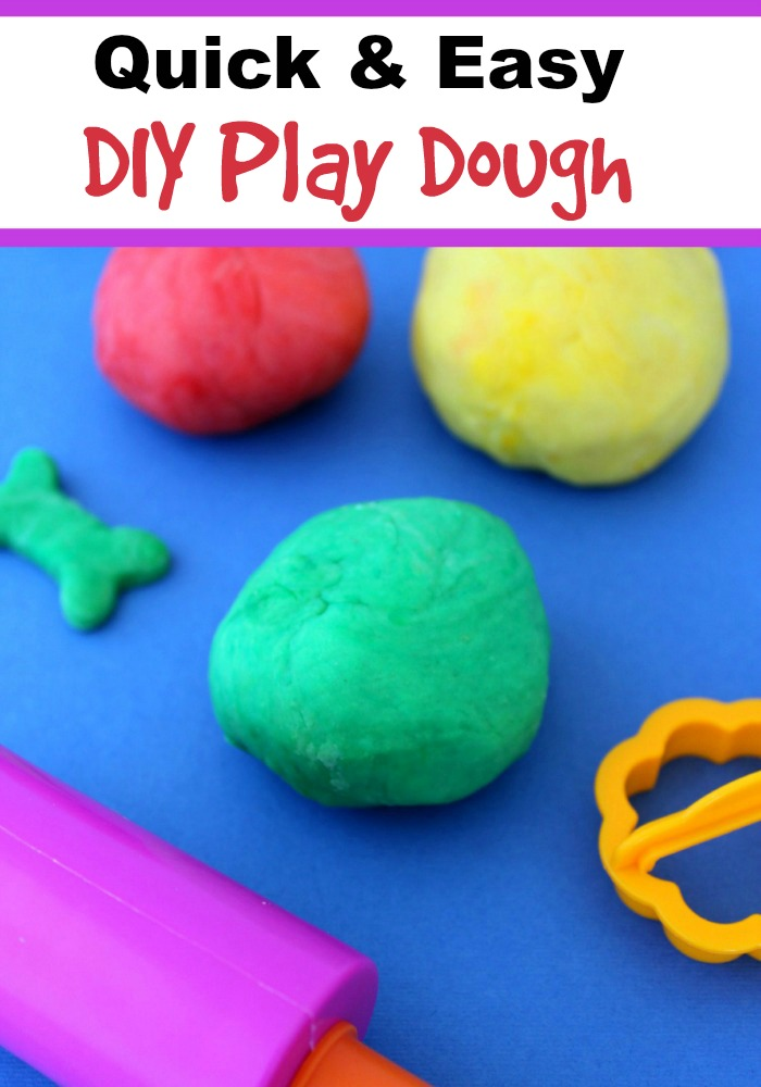 You are going to love how simple and quick this Kid Safe DIY Play Dough recipe is! You can even add essential oils to create your very own aromatherapy play dough!