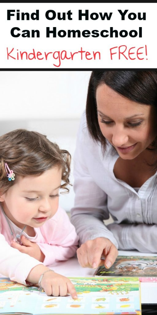 Find out how EASY it is to homeschool your kindergartner for FREE!