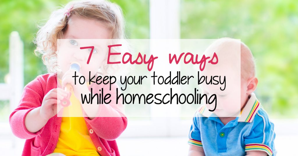 7 Easy ways to keep your toddler busy