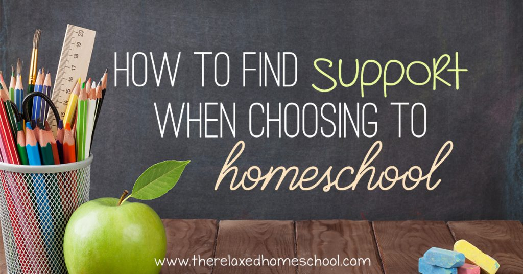 How to Find Support When Choosing to Homeschool