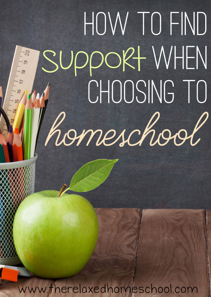 It's not always easy to find people who support your choice to homeschool your kids. Find out how to find like-minded people that will give you the support you need!