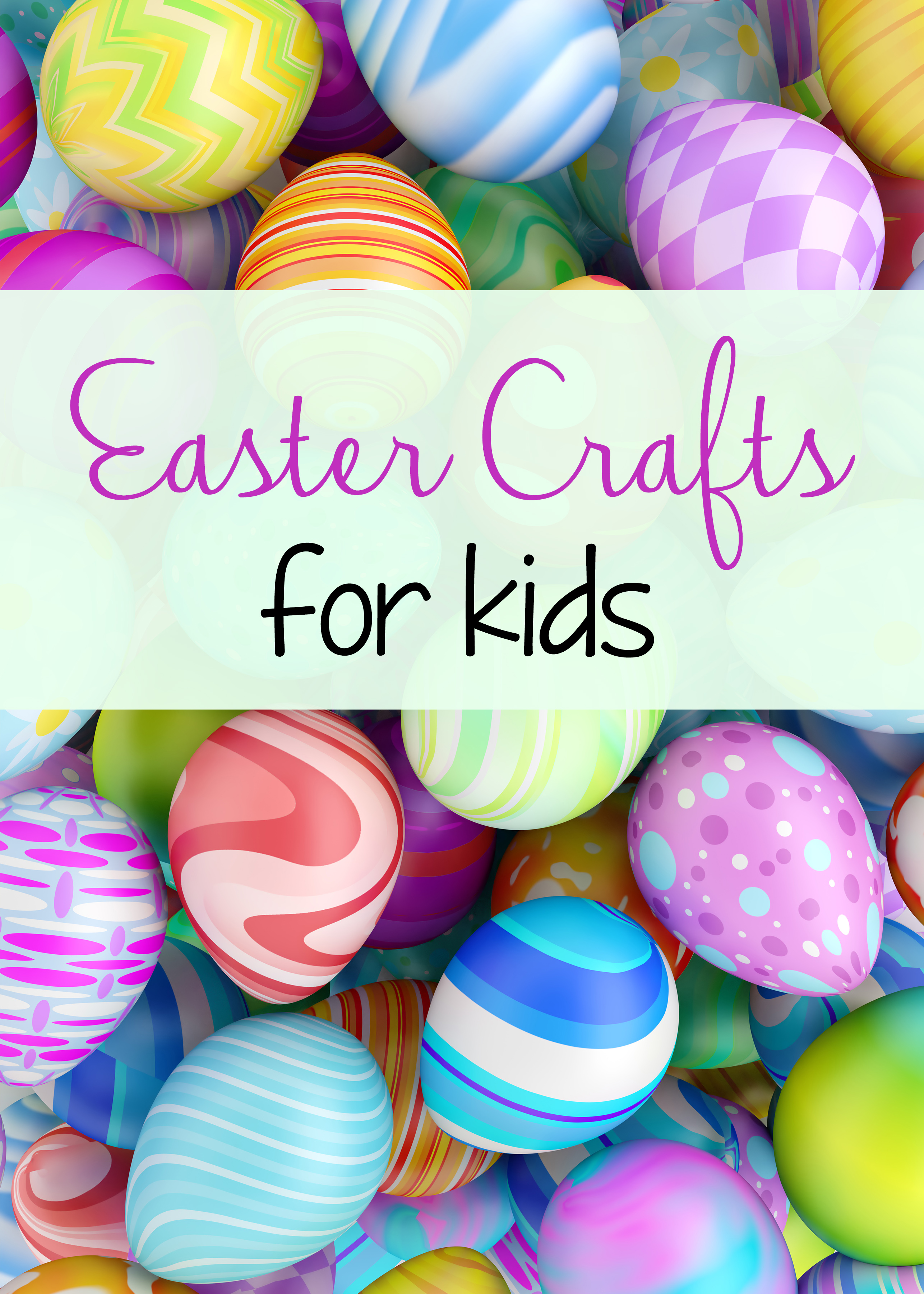 Great list of Easter crafts to do with kids this year! From egg racers to basket weaving, we've got the best Easter crafts listed here for you!