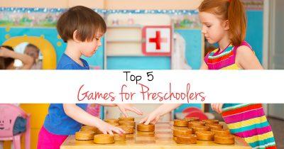 Top 5 games for preschoolers FB