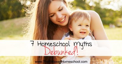 7 Homeschool Myths Debunked FB