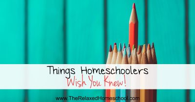 Homeschool Facts: Things homeschooling families wished that everyone knew!