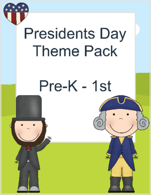 Check out this 16 page printable lesson pack for Presidents Day! Lots of fun games included! Printable Lessons | Presidents Day Lesson | George Washington | Abraham Lincoln
