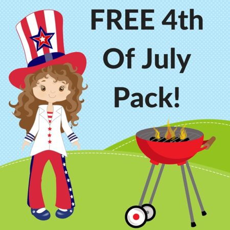 FREE 4th Of July Pack!