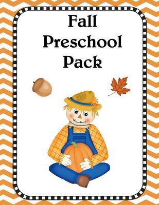 Free Fall theme pack! Great for preschoolers to practice alphabet, counting, and tracing. Free printable | Homeschooling |Free Homeschooling