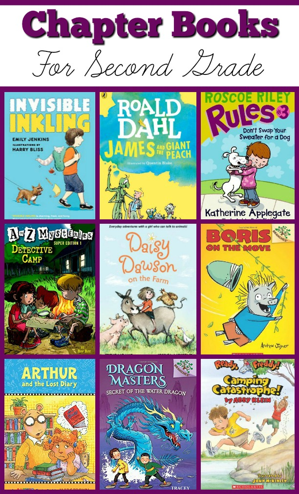 Chapter Books For Second Grade