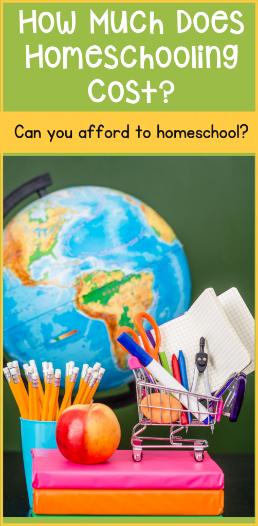 How much does it cost to homeschool?