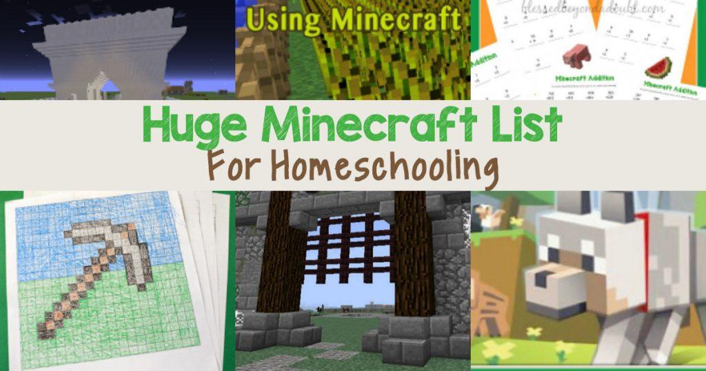 huge-minecraft-list-for-homeschooling-fb