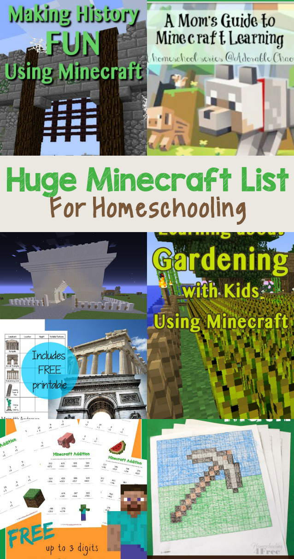 Minecraft Homeschooling The Relaxed Homeschool