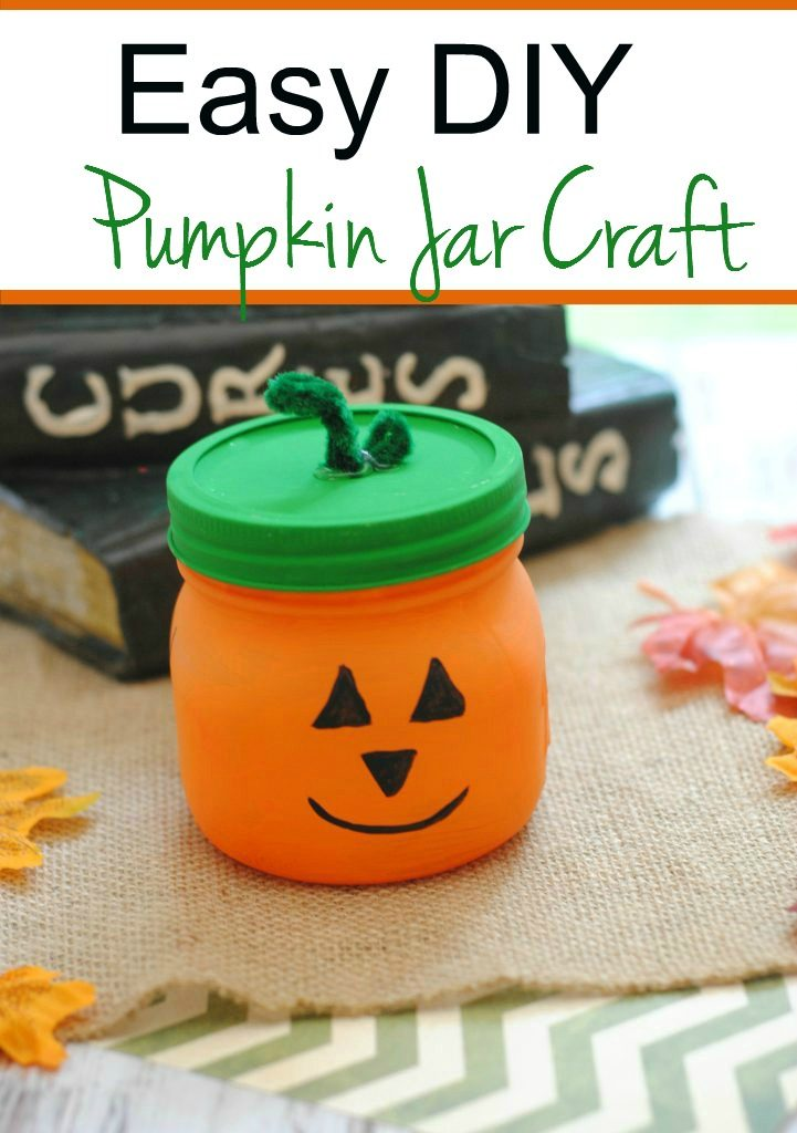 Easy DIY Pumpkin Craft for kids