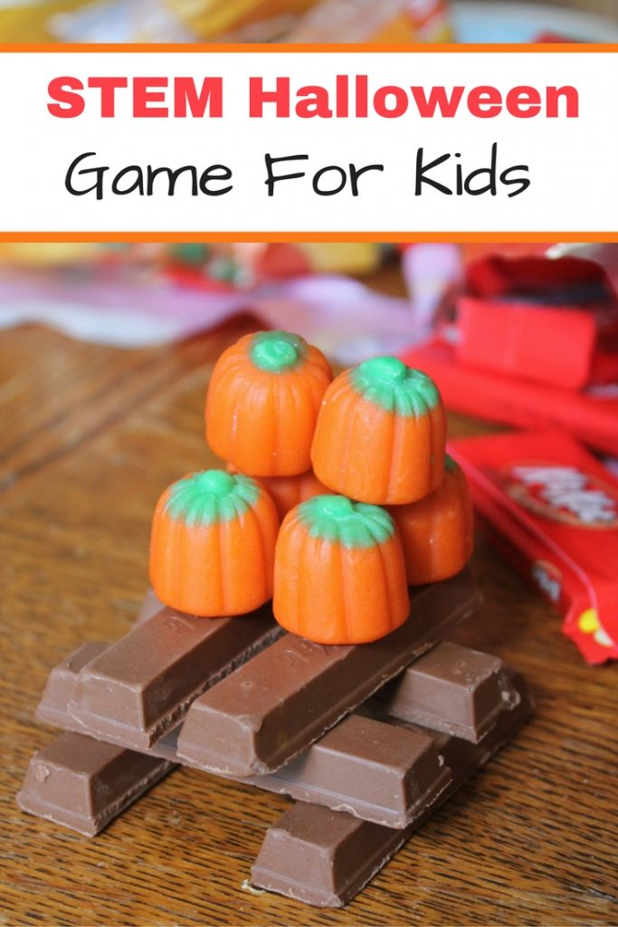 Fun Halloween STEM game for kids - tasty too!
