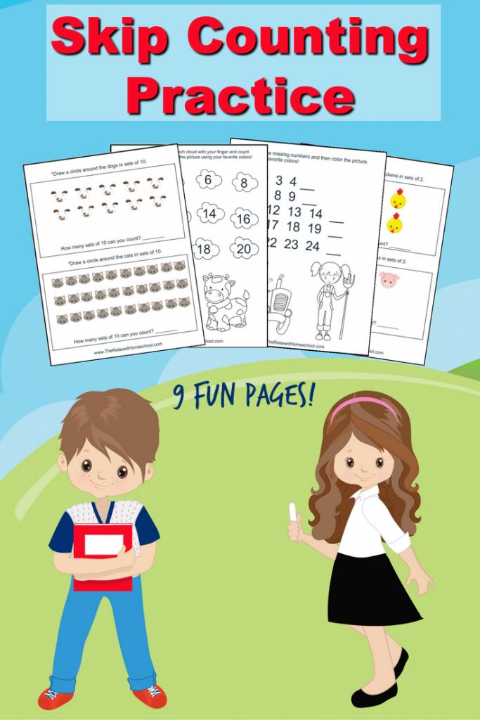 Free Skip Counting Worksheets   Free math worksheets