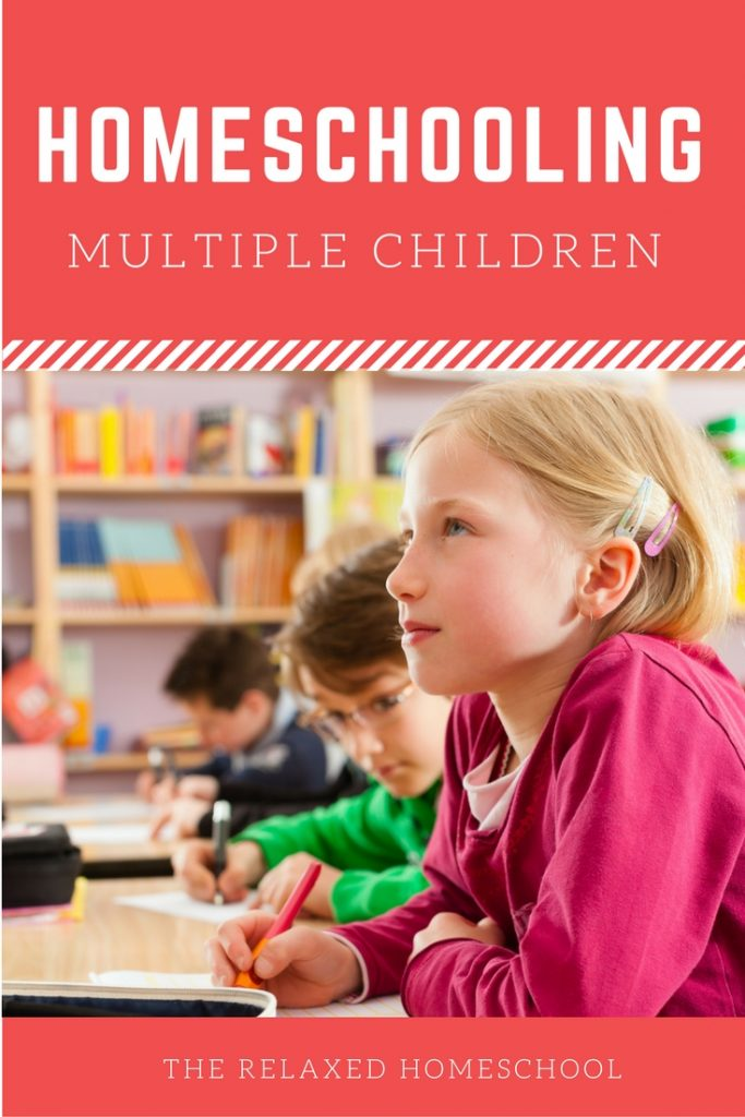 Tips and tricks on how to homeschool multiple children more efficiently!