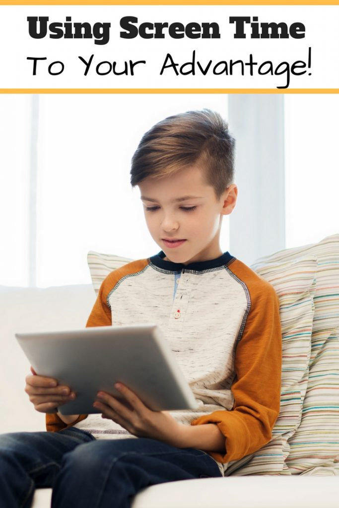 How to use screen time to your advantage! Make technology work for you! Here's how!