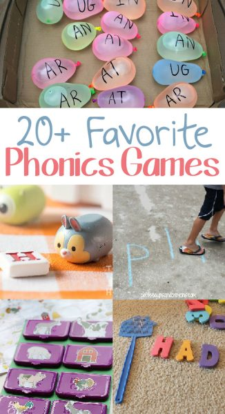 Kids Phonics Games! Click here see this huge list of phonics games for kids!