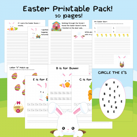 Free Easter printable pack
