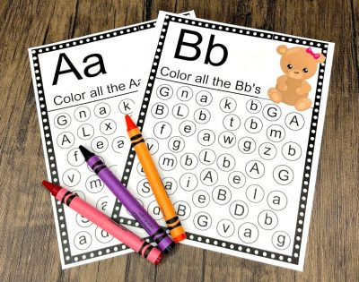 FREE Goldilocks ABC Printable