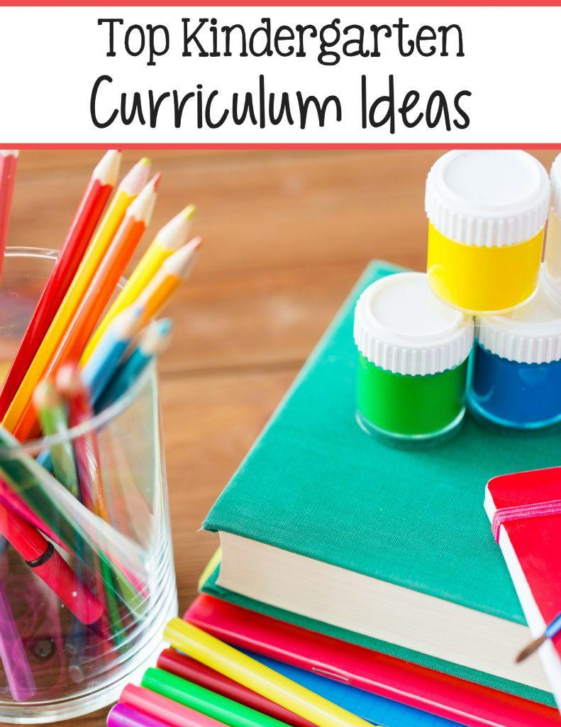 Check out these top Kindergarten curriculum choices!