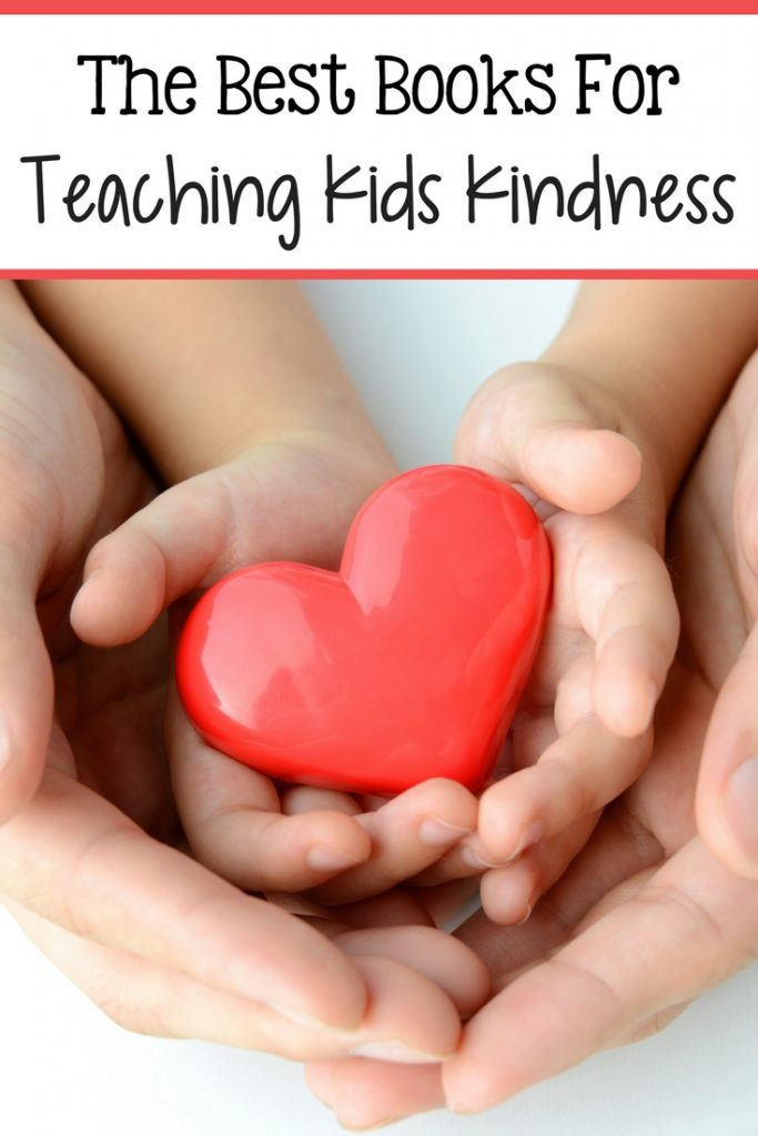 Check out this list of great books to help teach your children kindness!
