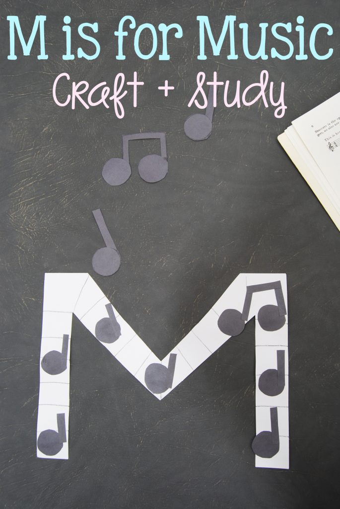 M is for Music Craft Activity